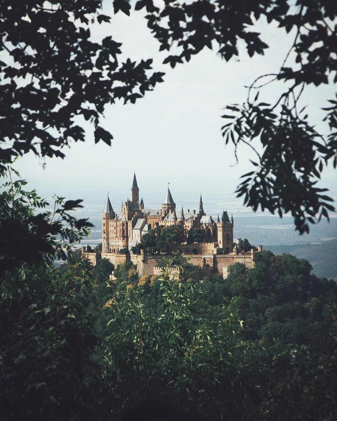 Hohenzollern Castle In Germany The Castle S Location Atop The Berg Hohenzollern Bluff Only Adds To The M Germany Castles Hohenzollern Castle Incredible Places
