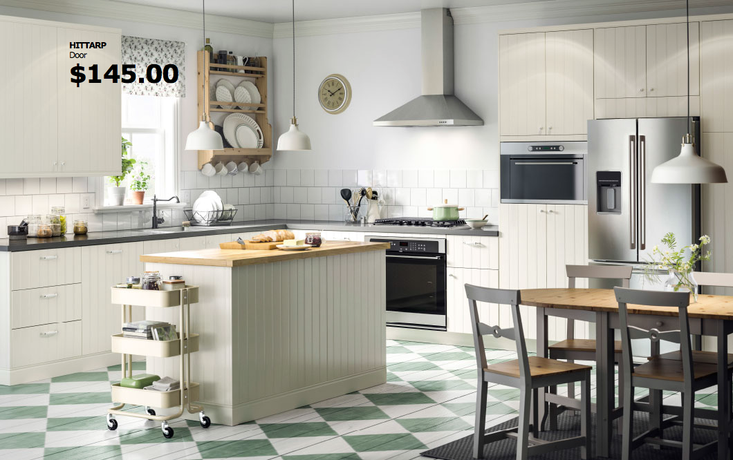 Ikea Hittarp cabinets | Bath | Pinterest | Kitchens, Galley ...