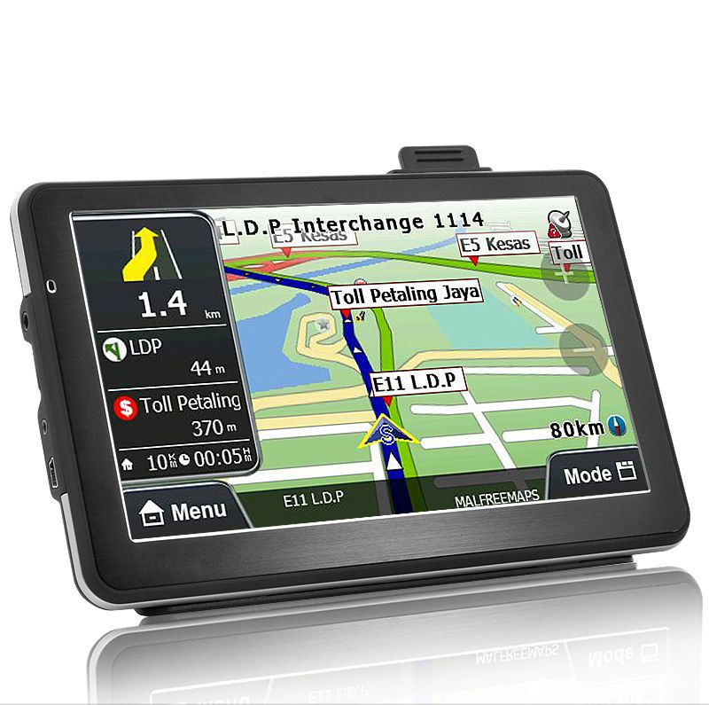 Car GPS Navigator with DVR - 7