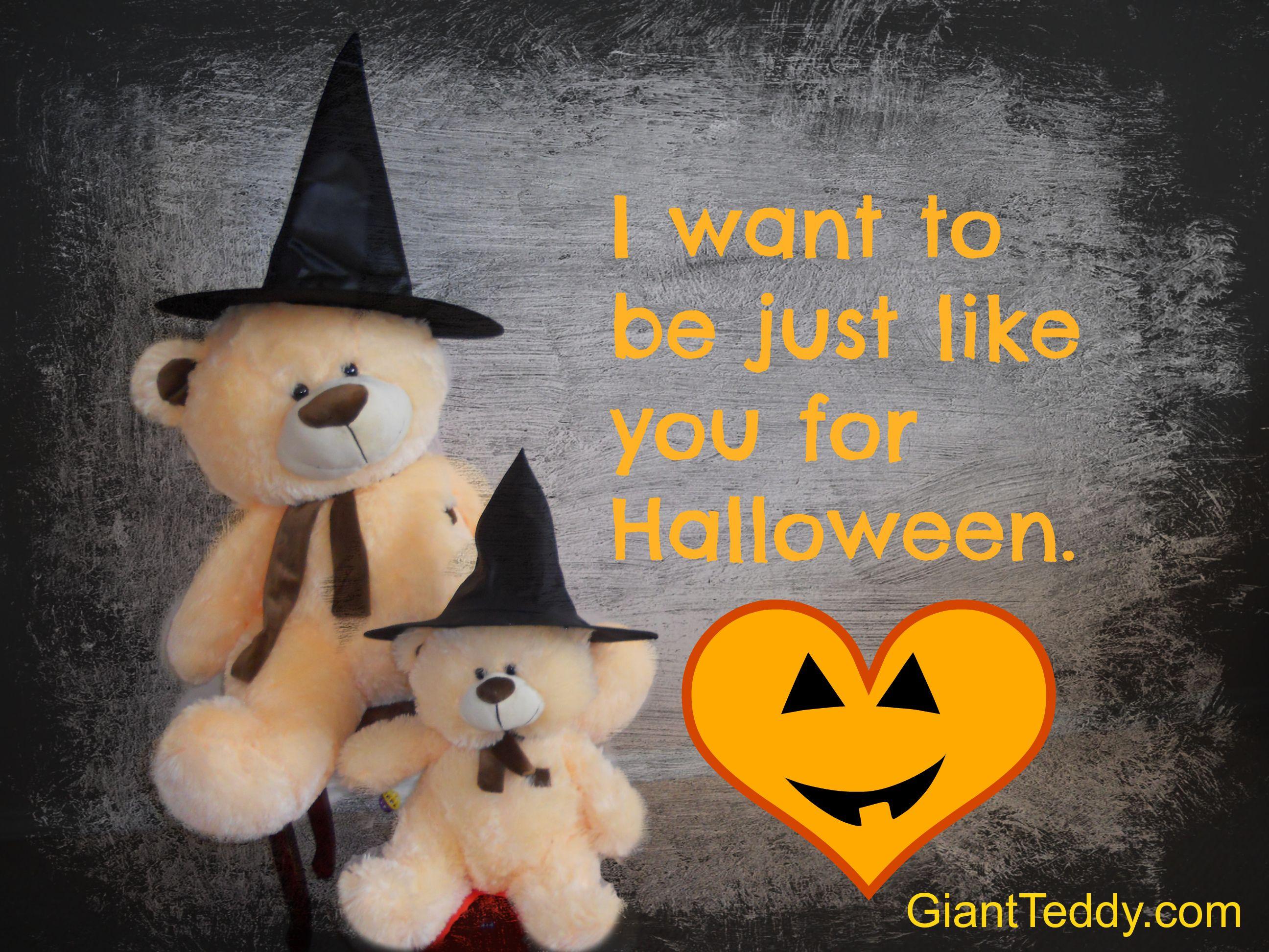Happy Halloween from GiantTeddy.com