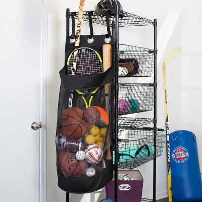 Honey Can Do All Star Hanging Organizer Black In 2020