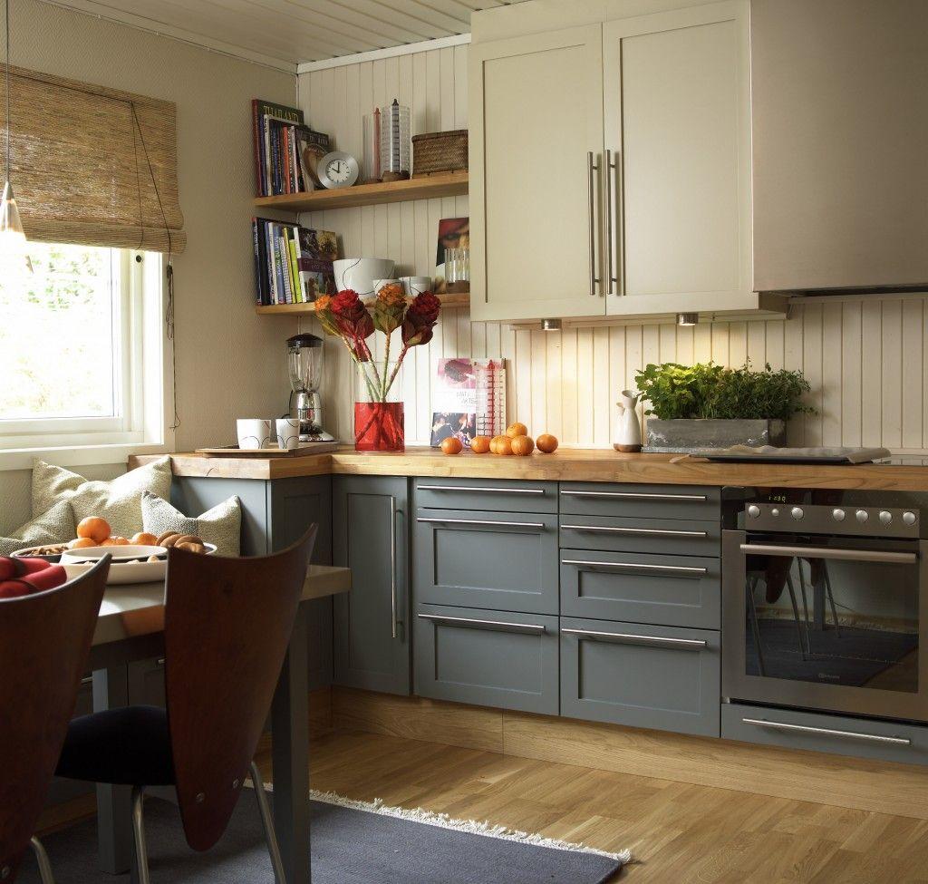 grå kjøkkeninnredning - Google-søk