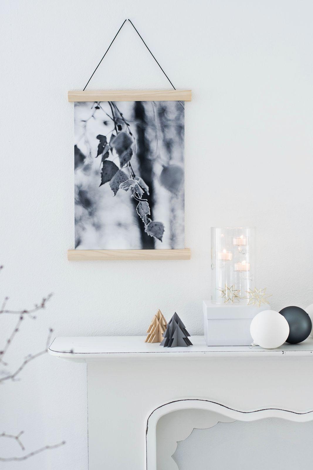 Kreativ Adventskalender Türchen 14 Diy Magnetische Bilderleiste Poster Download Ideen Zum Selbermachen Für Zu Hause Dekor Diy Beistelltisch