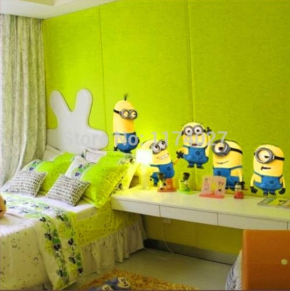 Find More Wall Stickers Information about Free shipping DESPICABLE