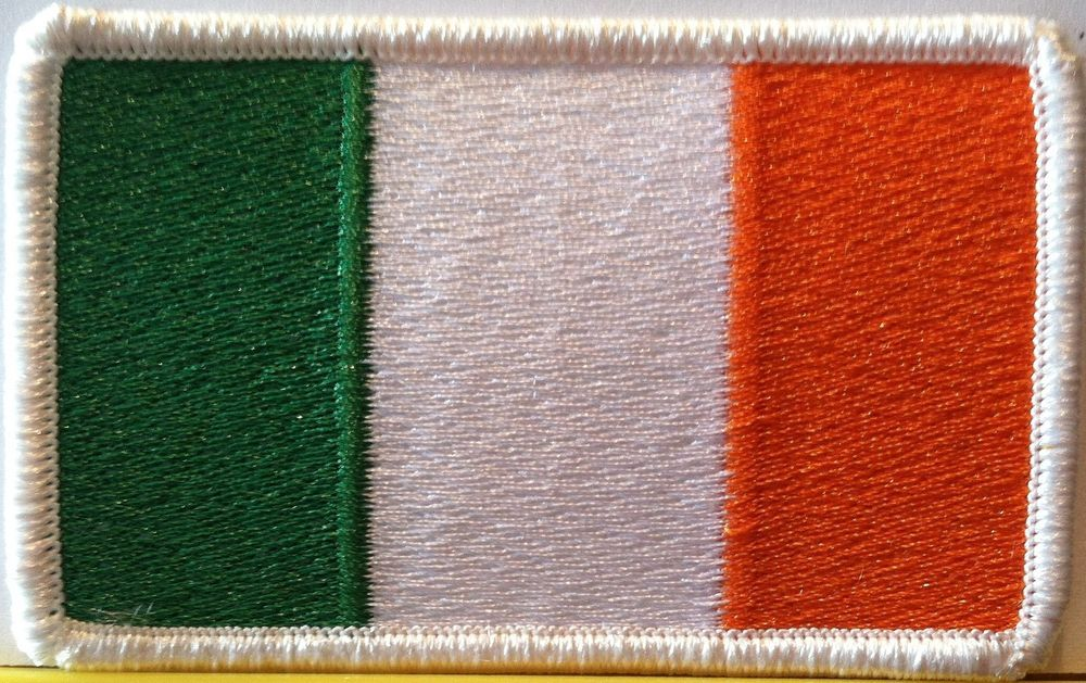 Tactical USA Flag// Irish Ireland Flag Embroidered Patch