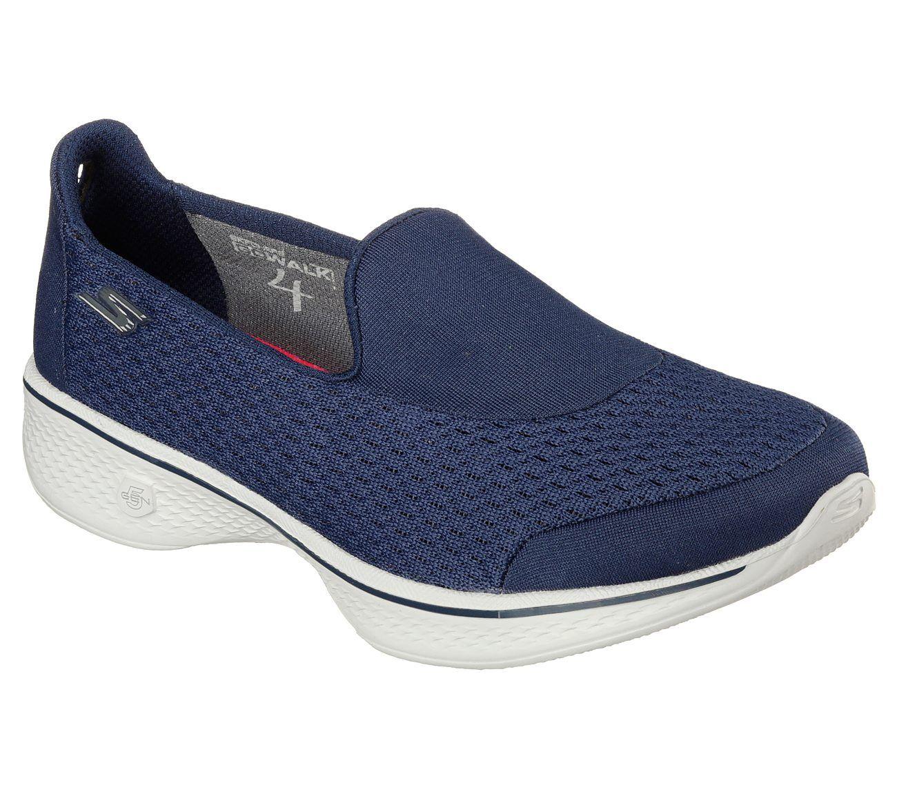 SKECHERS, GO WALK 5 Walkingschuhe, blau