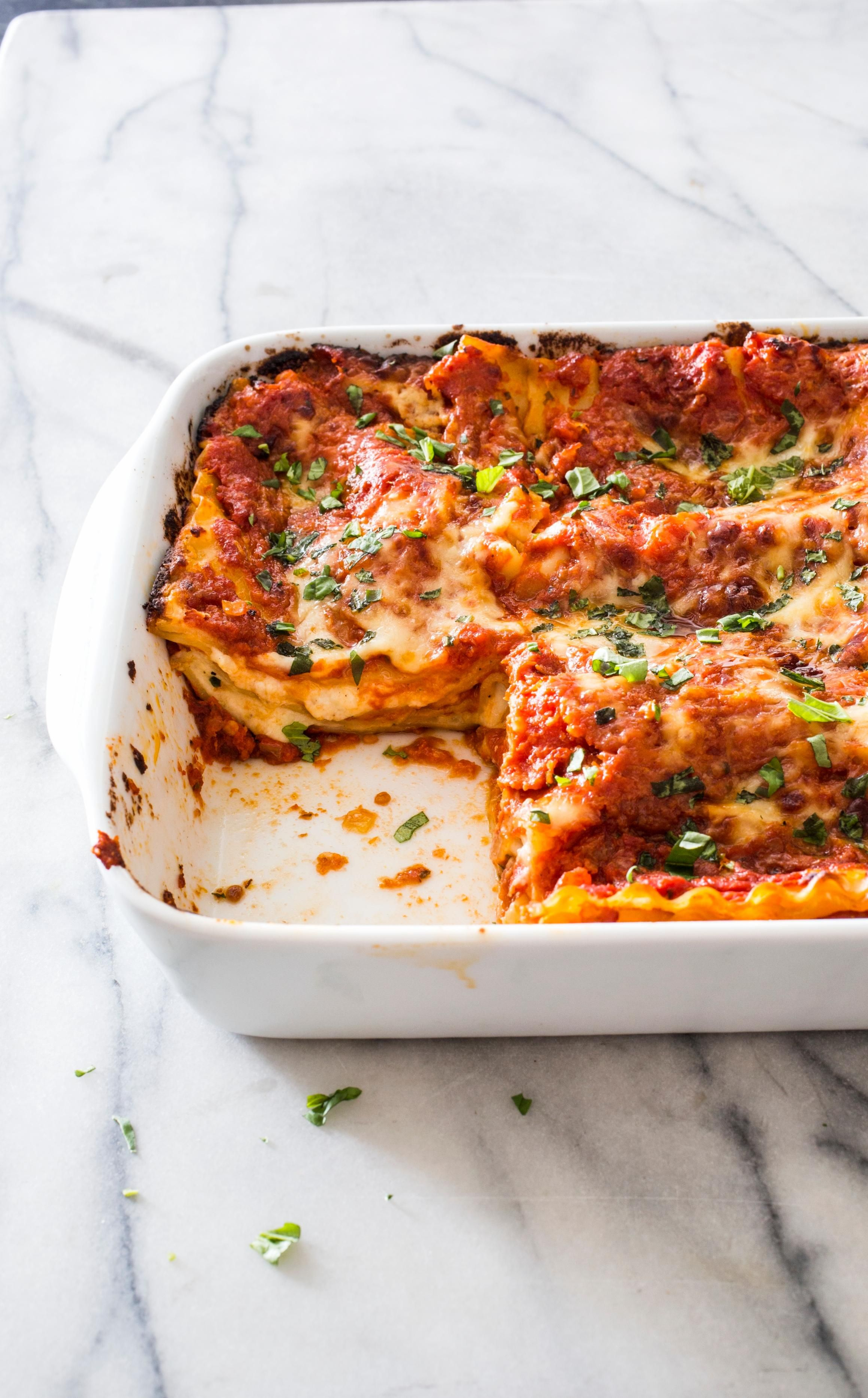 Cheese And Tomato Lasagna The Key To A Cheesy But Not Soggy