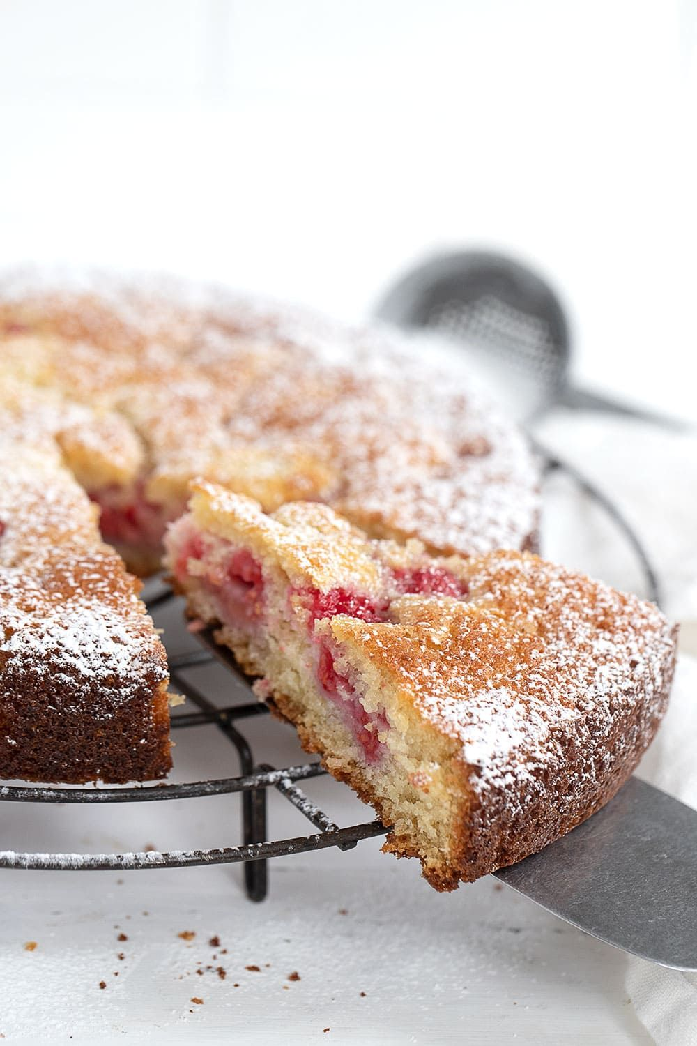 Photo of Buttermilk Raspberry Cake