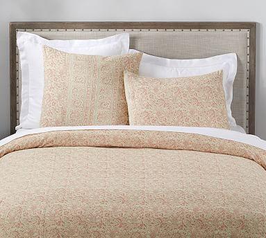Larsa Kalamkari Cotton Duvet Cover Amp Shams In 2020 Bed