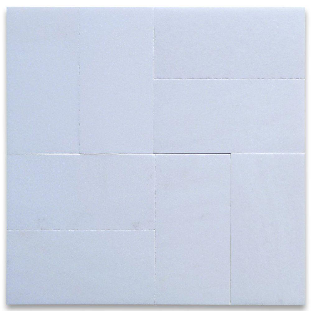 Thassos White Greek Marble Subway Tile 3 x 6 Honed