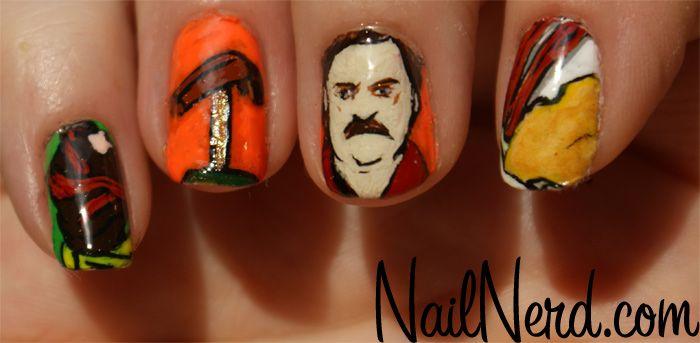 #RonSwanson nails