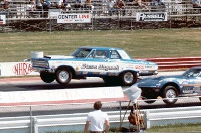 photos of steve bagwell drag cars | 1987: Patterson Racing Super Stock Camaro at Indy.