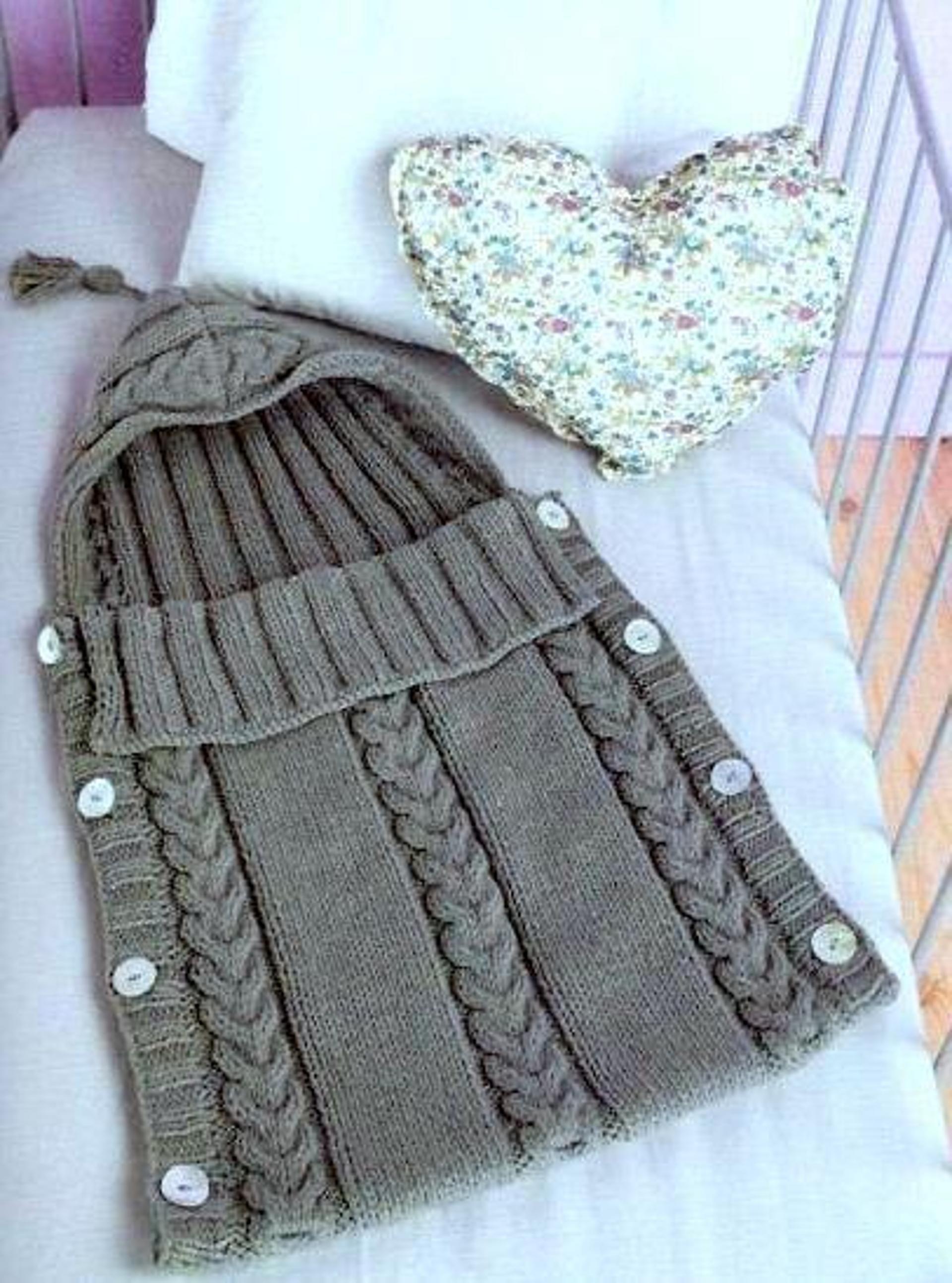Baby Sleeping Bag Cocoon Sleep Sack   Sleep sacks, Knitting patterns ...