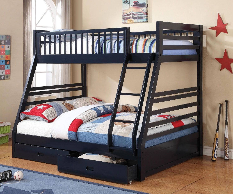 2019 navy bunk beds twin over full interior design bedroom ideas