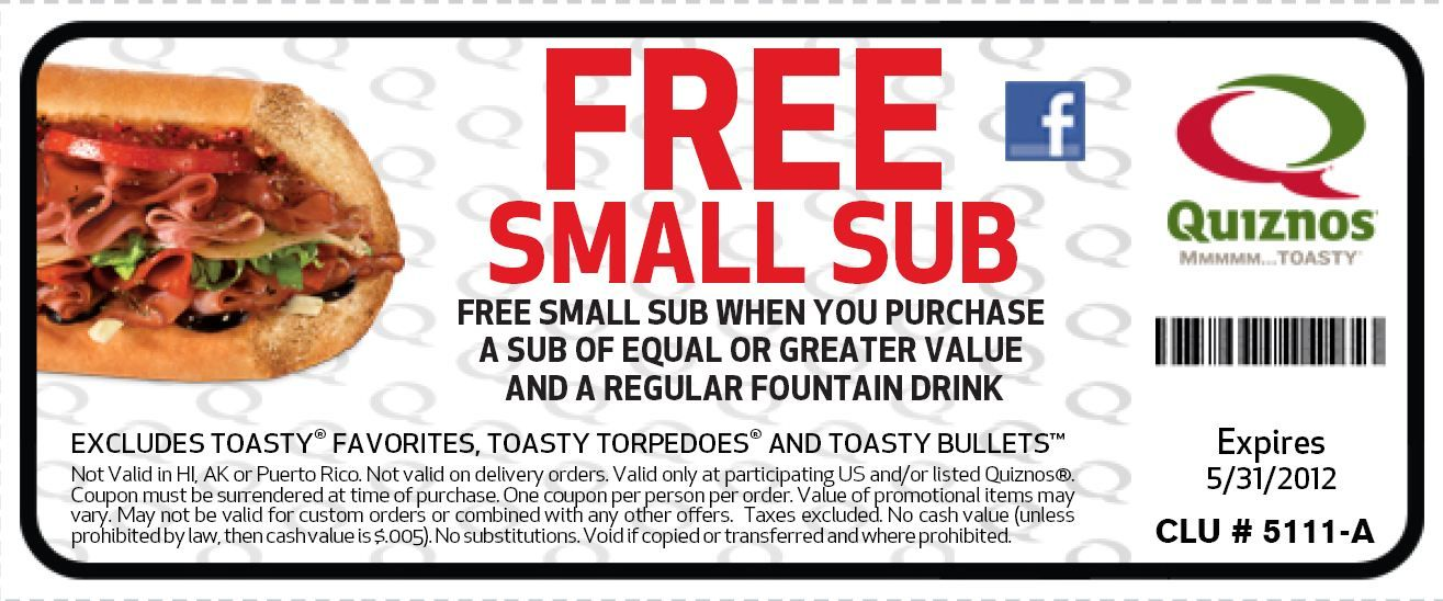 Free Fast Food Coupons Coupons Free Small Sub With A Bogo Deal Through May Fast Food Coupons Free Fast Food Free Fast Food Coupons Fast Food Coupons