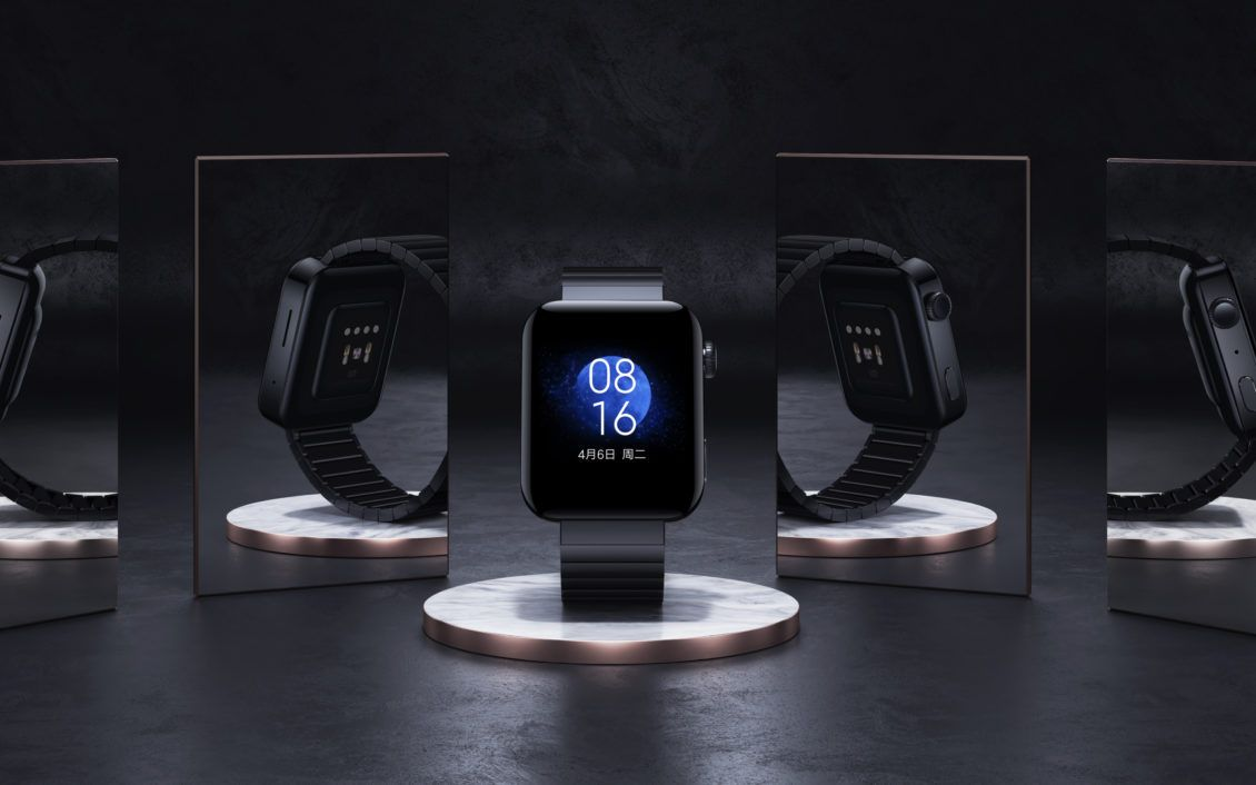 شاومي تطلق رسمي ا Mi Watch المستنسخة من ساعة آبل Xiaomi Gorilla Glass Iphone