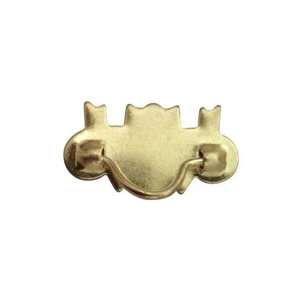 Miniature Brass Drawer Pulls Dollhouse Hardware Superior