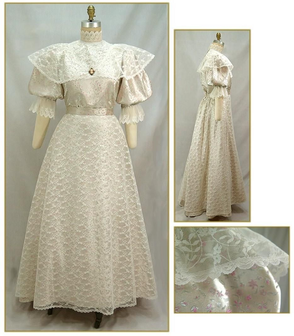 Brocade u lace skirt style reproductions