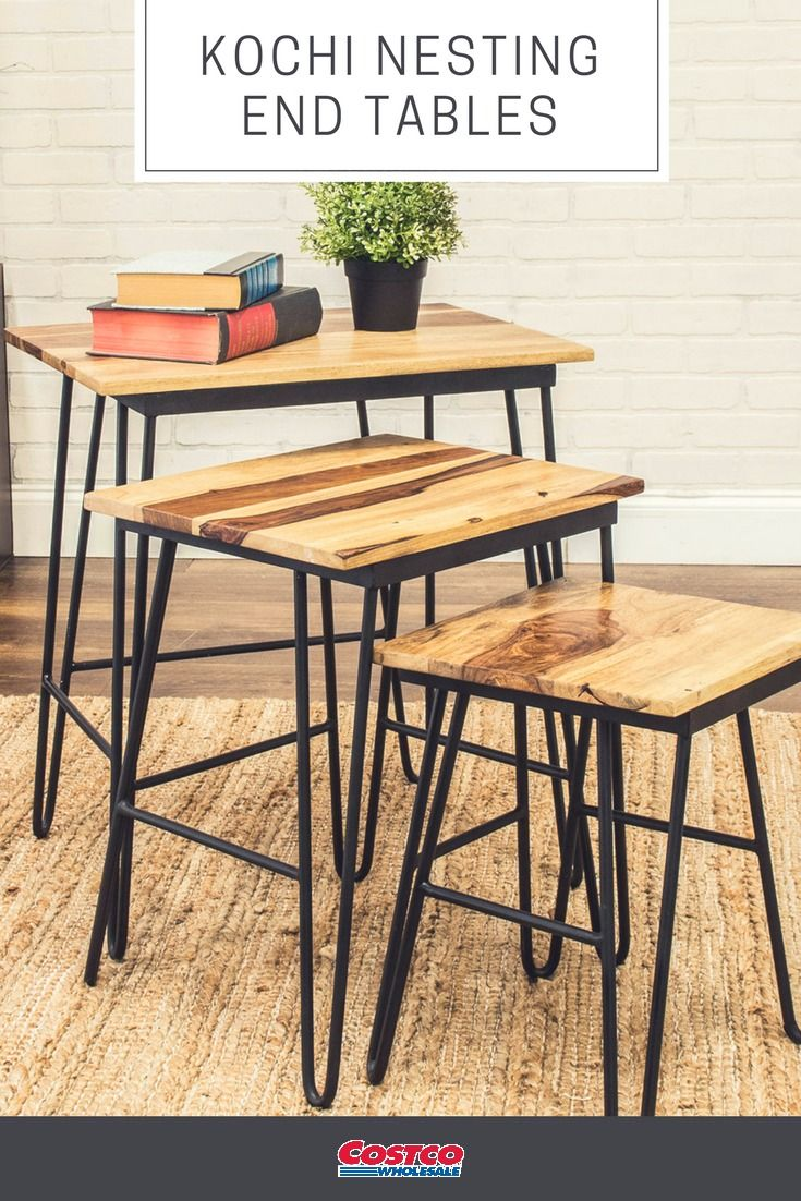 Kochi Nesting End Tables What S New On Costco Com