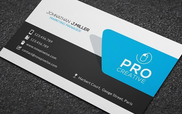 Creative Business Card 002 A Highly Versatile Template That Is Designed For