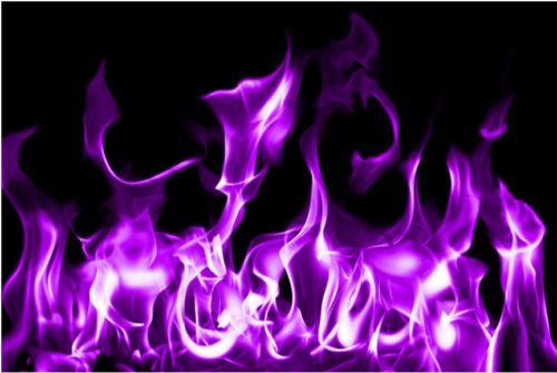 3pc Purple Fire Flames Vinyl Decal Wrap Sticker Motorcycle Car Truck Trailer Flame Art Blue Wallpapers Blue Flames