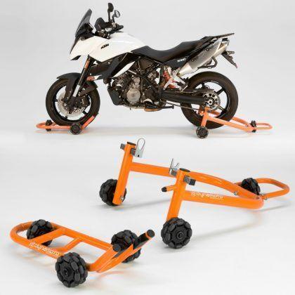 Dynamoto Motorcycle Stand Double Set Ktm Di 2019 Kendaraan Dan Moci