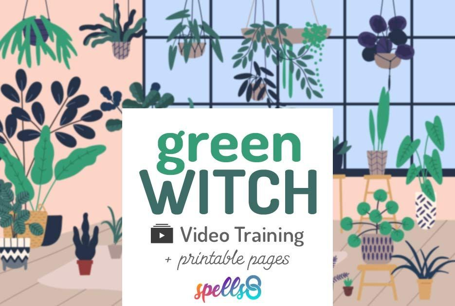 The Green Witch: Herbal Witchcraft Course #greenwitchcraft The Green Witch: Herbal Witchcraft Course #greenwitchcraft