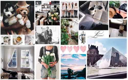 Aesthetic Tumblr Collage Wallpaper Laptop