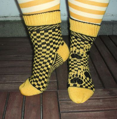 Knitting By Kaae: Hufflepuff recipe - The pattern