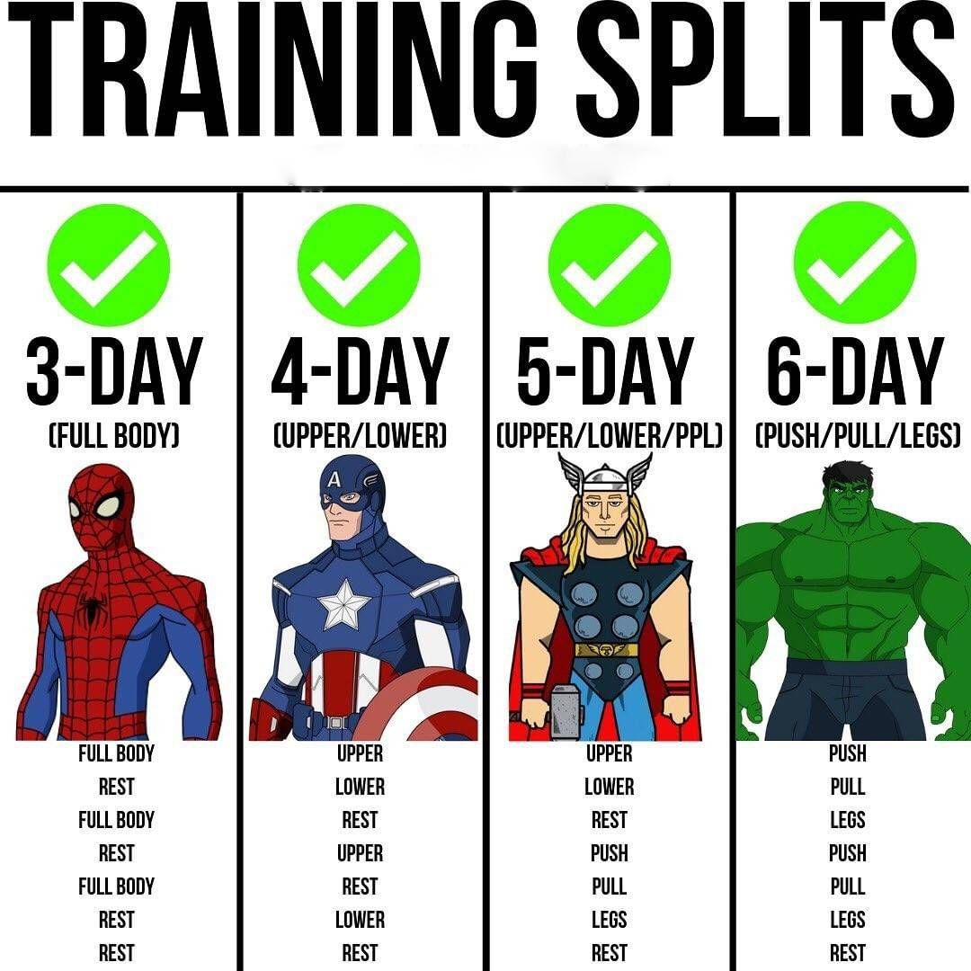 Do You Know These Training Splits Which Trainig Split Are