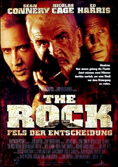 Filmplakat Rock The Fels Der Entscheidung 1996 Plakat 2 Von 3 Filmplakate Filme Gute Filme