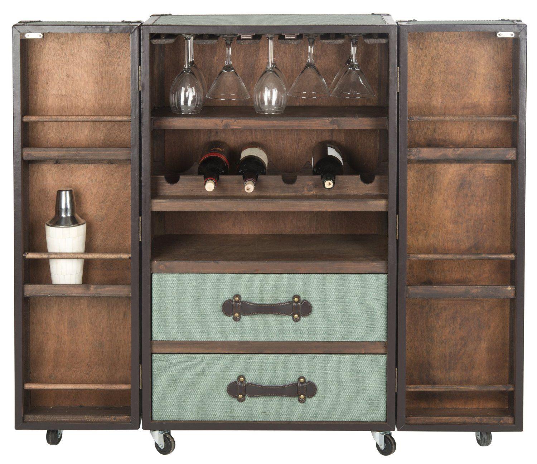 Amazon.com - Safavieh Lexington Bar Cabinet Home Furniture & Decor ...