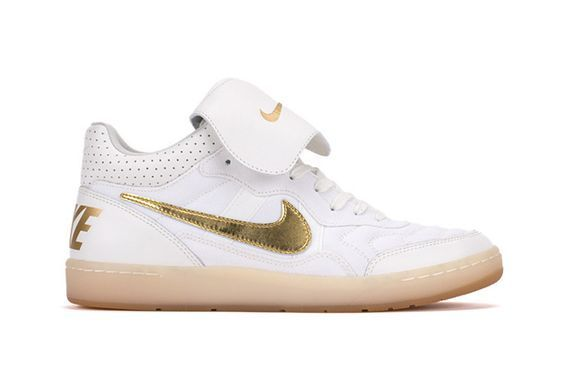 """Explore Soccer Shoes, Nike Shoes and more! Nike Tiempo '94 Mid – """"Gold""""  Ebony and Ivory"""