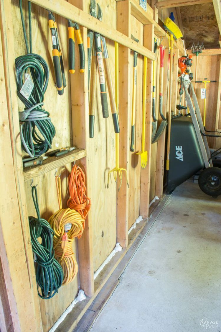 garden shed organization creating a rodent proof shed simpe and easy garden shed organization and cleaning thenavagepatch com [ 750 x 1125 Pixel ]