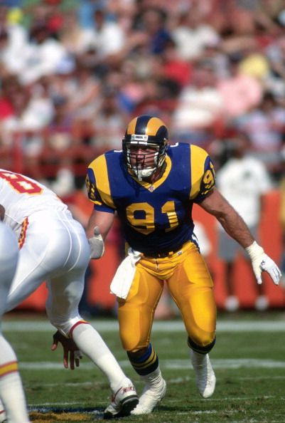 competitive price 718f8 22bab Kevin Greene of the Los Angeles Rams 1991 | NFL Players ...