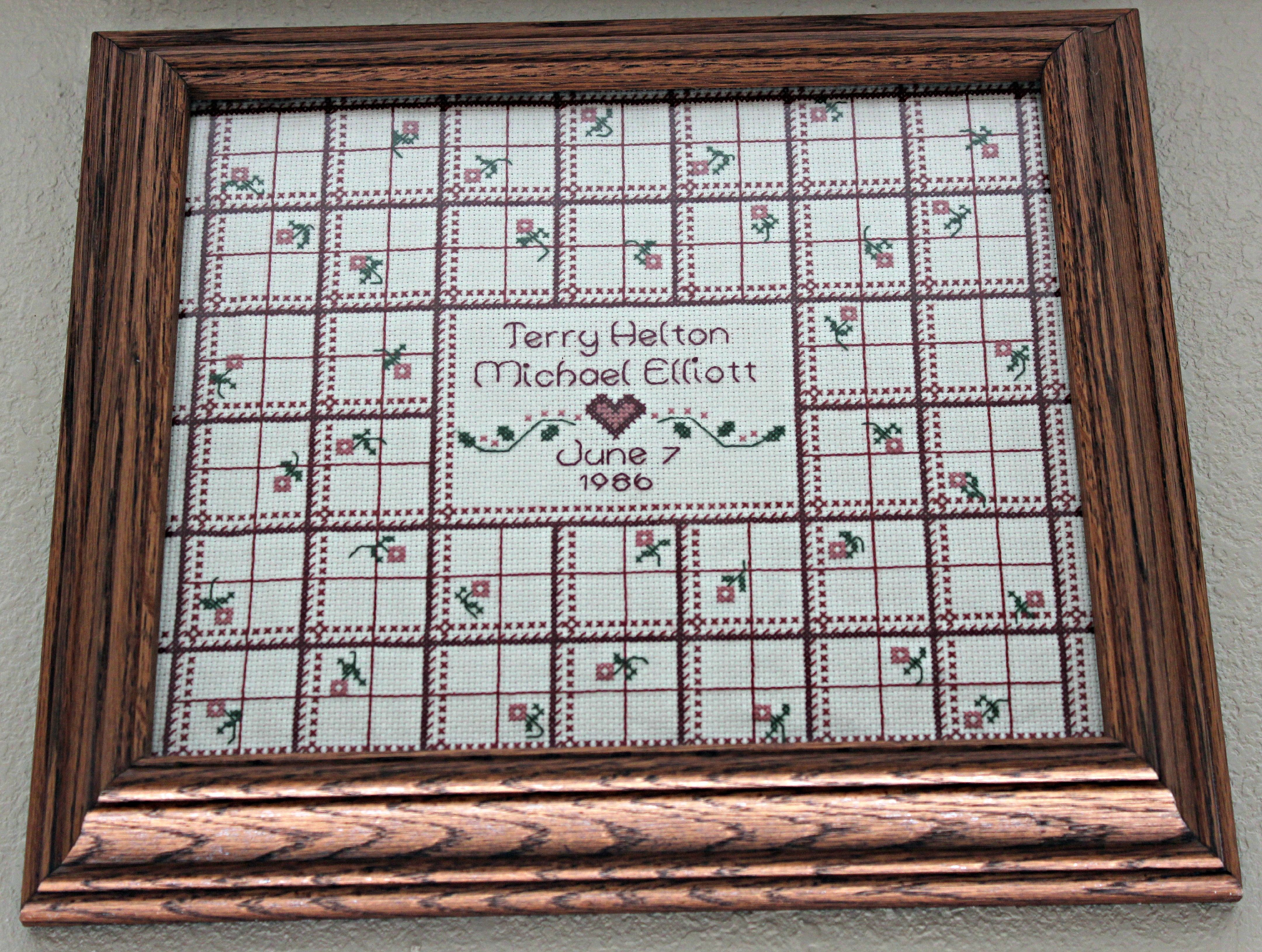 cross stitch wedding sampler cross stitch pinterest