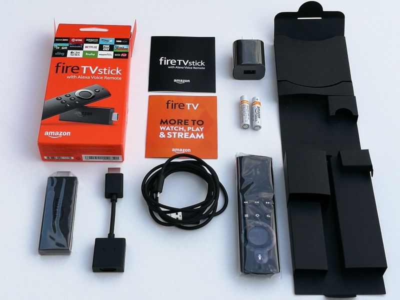 Unboxing The Fire Tv Stick With Alexa Voice Remote To Reveal Its