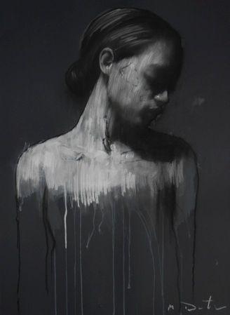 Mark Demsteader; Pastel & Collage