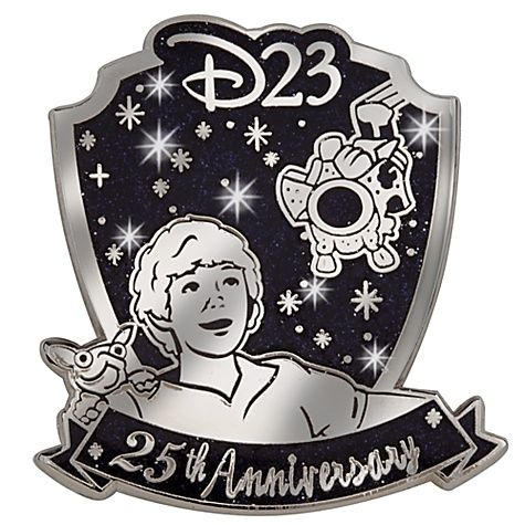 D23 Membership Exclusive 25th Anniversary Flight of the Navigator Pin -- Limited Edition of 250