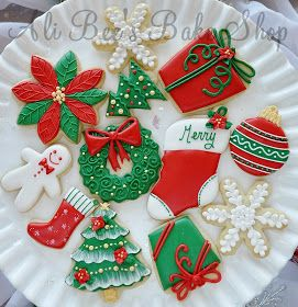 christmas cookie ideas - How To Decorate Christmas Sugar Cookies
