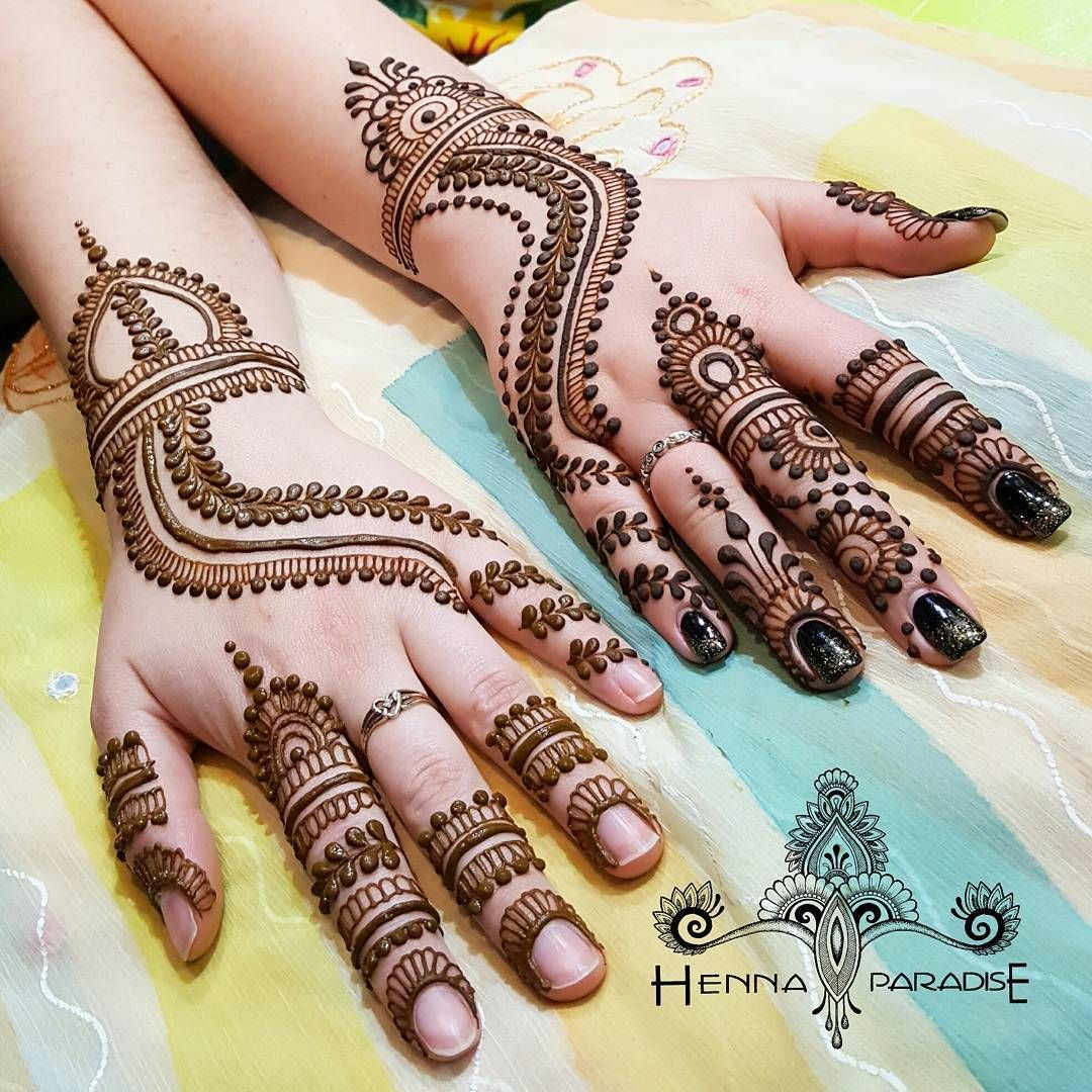 Sarala Aravind Henna Paradise On Instagram And The Duo Of