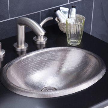 Rolled Baby Classic Drop In Bathroom Sinks Copper Sink Bathroom