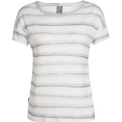 Photo of Icebreaker T-shirt til kvinder Cool-Lite ™ via kortærmet Scoop, størrelse S i emalje Hthr / panter / rids S