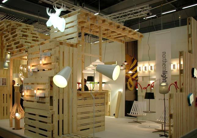 Exhibition Stall Lights : Stockholm design week northern lighting exhibit
