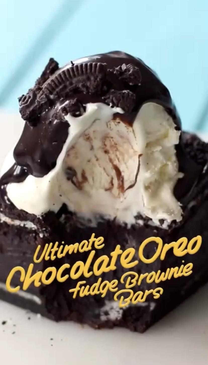 Photo of Ultimate Oreo Fudge Brownie Bars | Tastemade