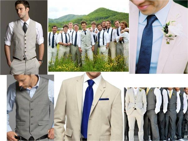 Wedding Groomsmen Royal Blue
