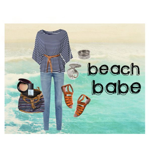 Beach Babe, created by ariannemuir on Polyvore