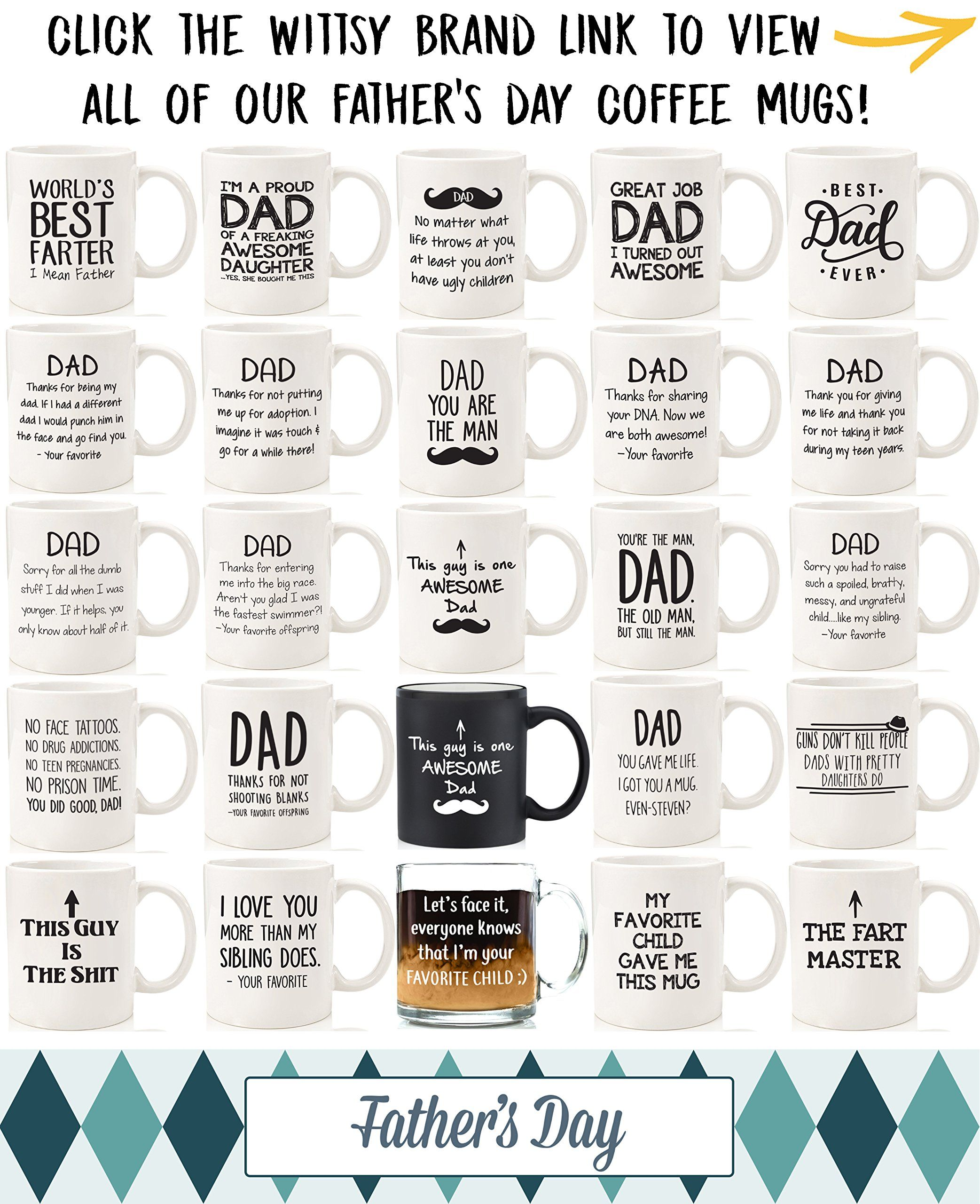 Best Mom /& Dad Christmas Gifts Son Him Novelty Bday Present for Parents Her Being Your Favorite Child Funny Mug Kids Women Fun Coffee Cup for Men Unique Gag Xmas Gift Idea from Daughter