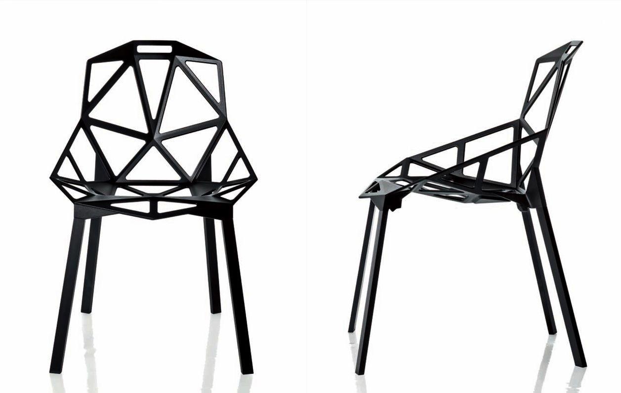 Grcic Chair One tecnologia design chair one di konstantin grcic geometric