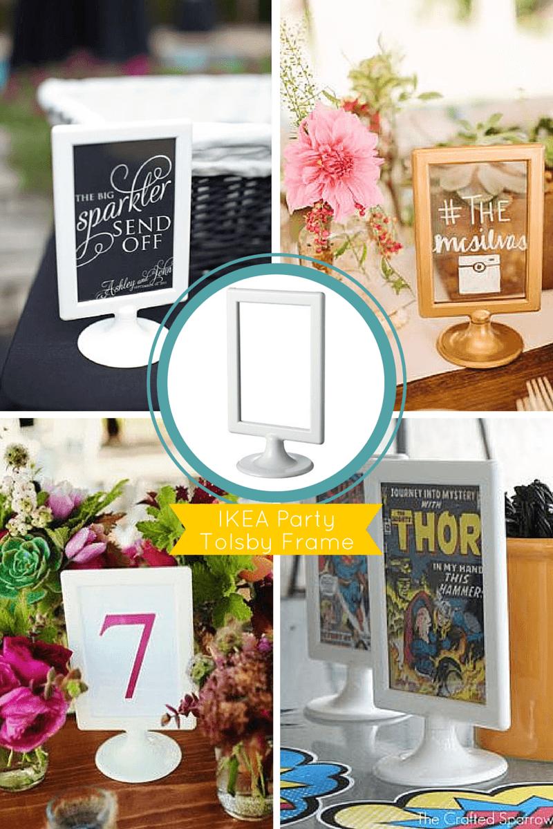 10 must have ikea hacks for your wedding or party pinterest tischdeko hochzeit tischdeko. Black Bedroom Furniture Sets. Home Design Ideas